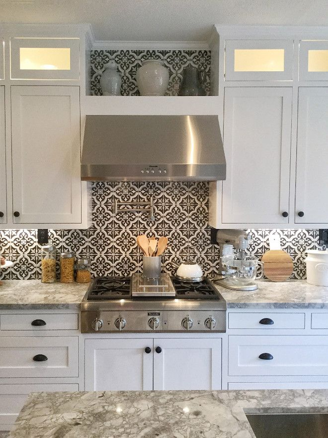 black and white kitchen backsplash ideas best 15+ kitchen backsplash tile ideas | dream home! | pinterest CMMTDSI