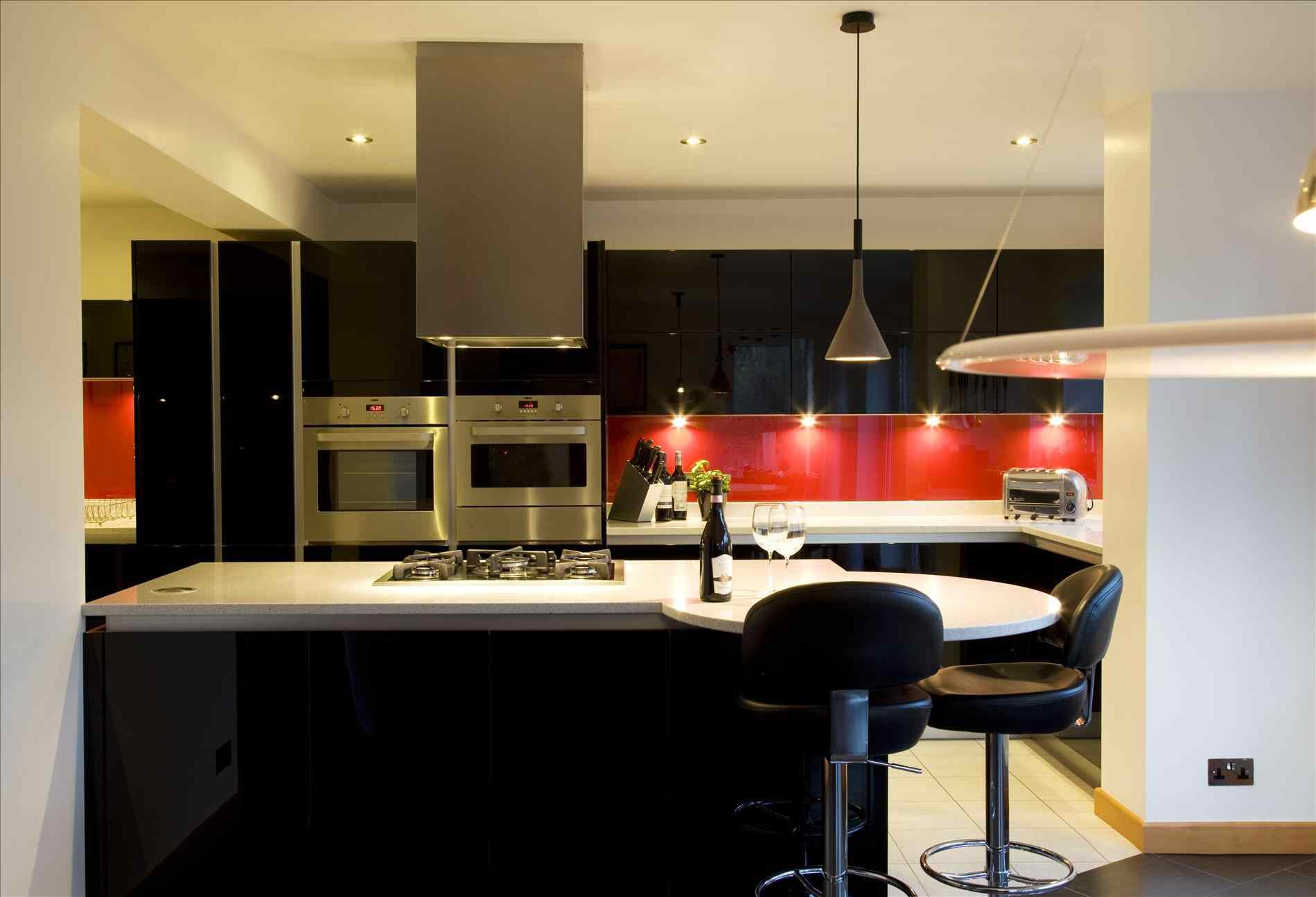 black and white kitchens with a splash of colour black and white kitchens with a splash colour phenomenl europen KGYNMQO
