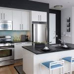 Ideas for Black and White Kitchens with A Splash of Colour