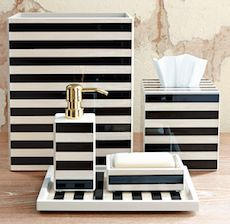 Ordinaire Black And White Striped Bathroom Accessories Brilliant Black And White  Bathroom Accessories Luxury Home Design Ideas