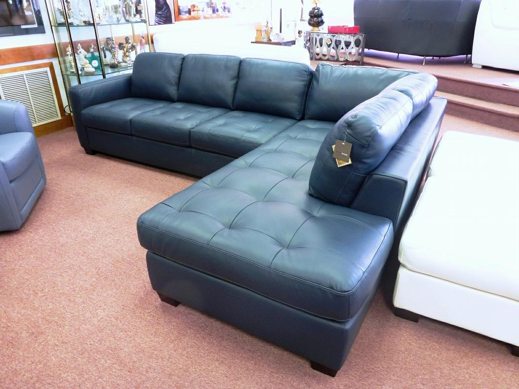 blue leather sectional sofa with chaise amazing blue sectional with chaise teal blue leather sofa thesofa in VEVXWJG