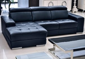blue leather sectional sofa with chaise sectional sofa design: amazing navy blue leather sectional sofa in blue DAXZHKK