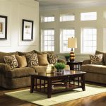 Brown Living Room Furniture Decorating Ideas