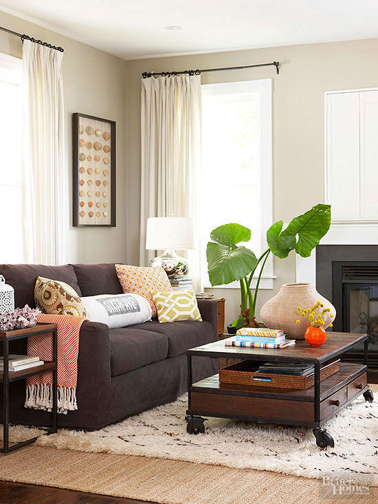 brown living room furniture decorating ideas brown sofa living room UDBBHUL