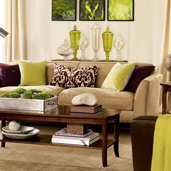 brown living room furniture decorating ideas green brown living room EKWTGGS