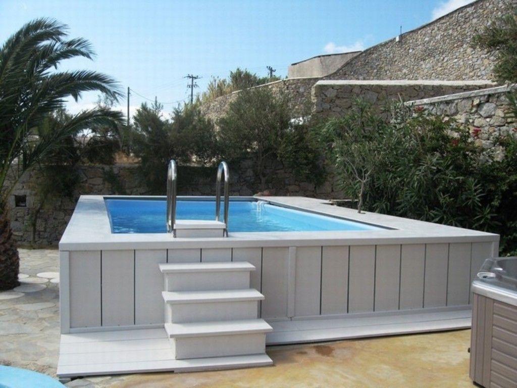 cheap rectangular above ground swimming pools EPYKDLK