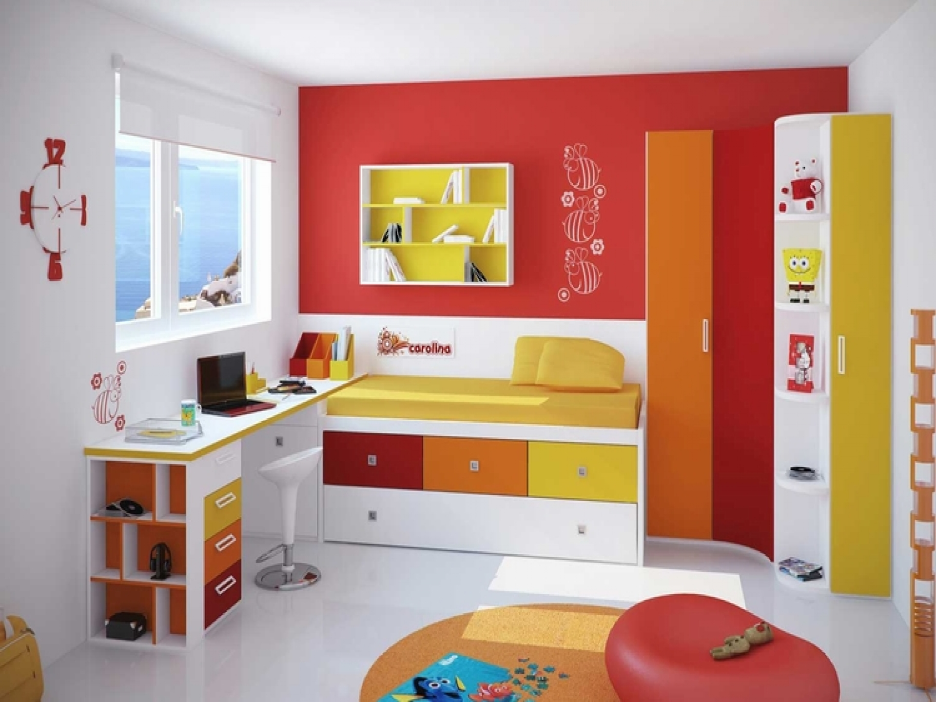 Children's Bedroom Furniture for Small Rooms