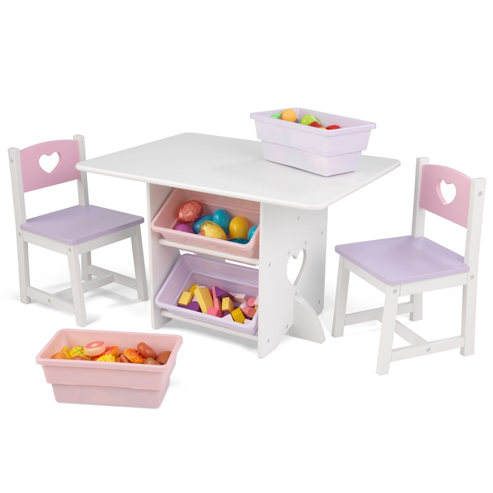 childrens table and chairs with storage sofa ... FDCGJKH