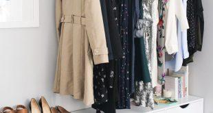 clothing storage ideas for small bedrooms - bedroom wall art ideas QAAHSML