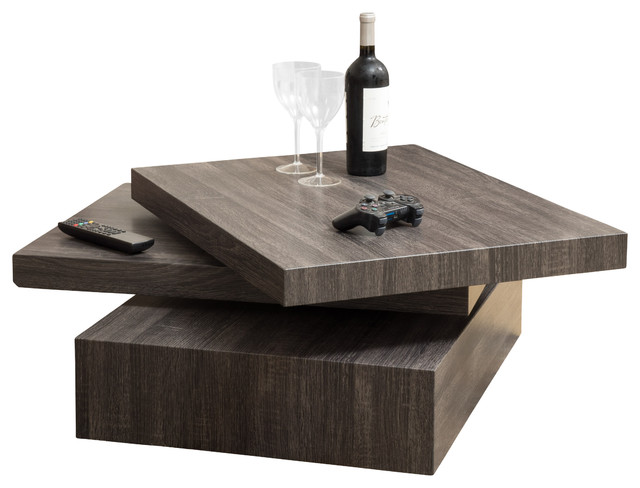 contemporary coffee tables with storage haring square rotating coffee table ZHDYGRC