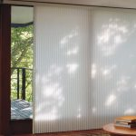 Beautiful Contemporary Window Treatments for Sliding Glass Doors