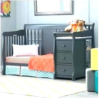 convertible baby cribs with changing table baby cribs 4 in 1 with changing table gray convertible HNAEVBV