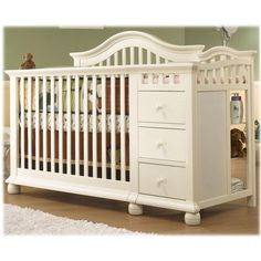 convertible baby cribs with changing table crib and changing table combo · convertible crib with changer! NSWHJFA
