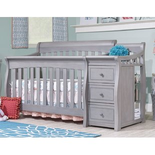 convertible baby cribs with changing table crib u0026 changing table combo TJSHFKC