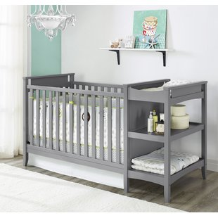 convertible baby cribs with changing table emma 2-in-1 convertible crib with changing table. by baby relax CQGTHIQ