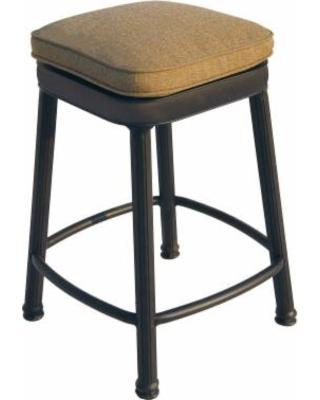 counter height backless swivel bar stools darlee camino square counter height backless swivel patio bar stool YKVMEJI