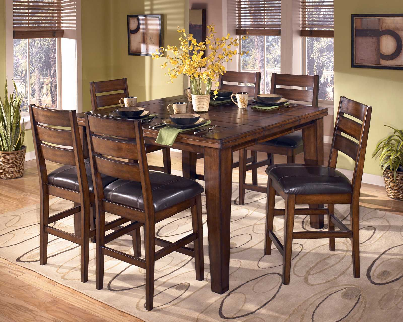 Counter Height Dining Table with Butterfly Leaf counter height dining sets butterfly leaf ECKUPTT