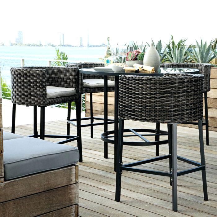 counter height outdoor table and chairs bar height kitchen table sets fabulous bar height patio furniture JQBZKJL