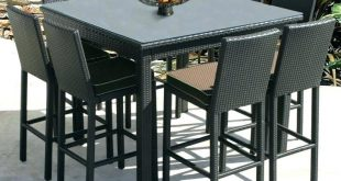 counter height outdoor table and chairs counter height outdoor dining set counter height outdoor table medium ACXKWCO