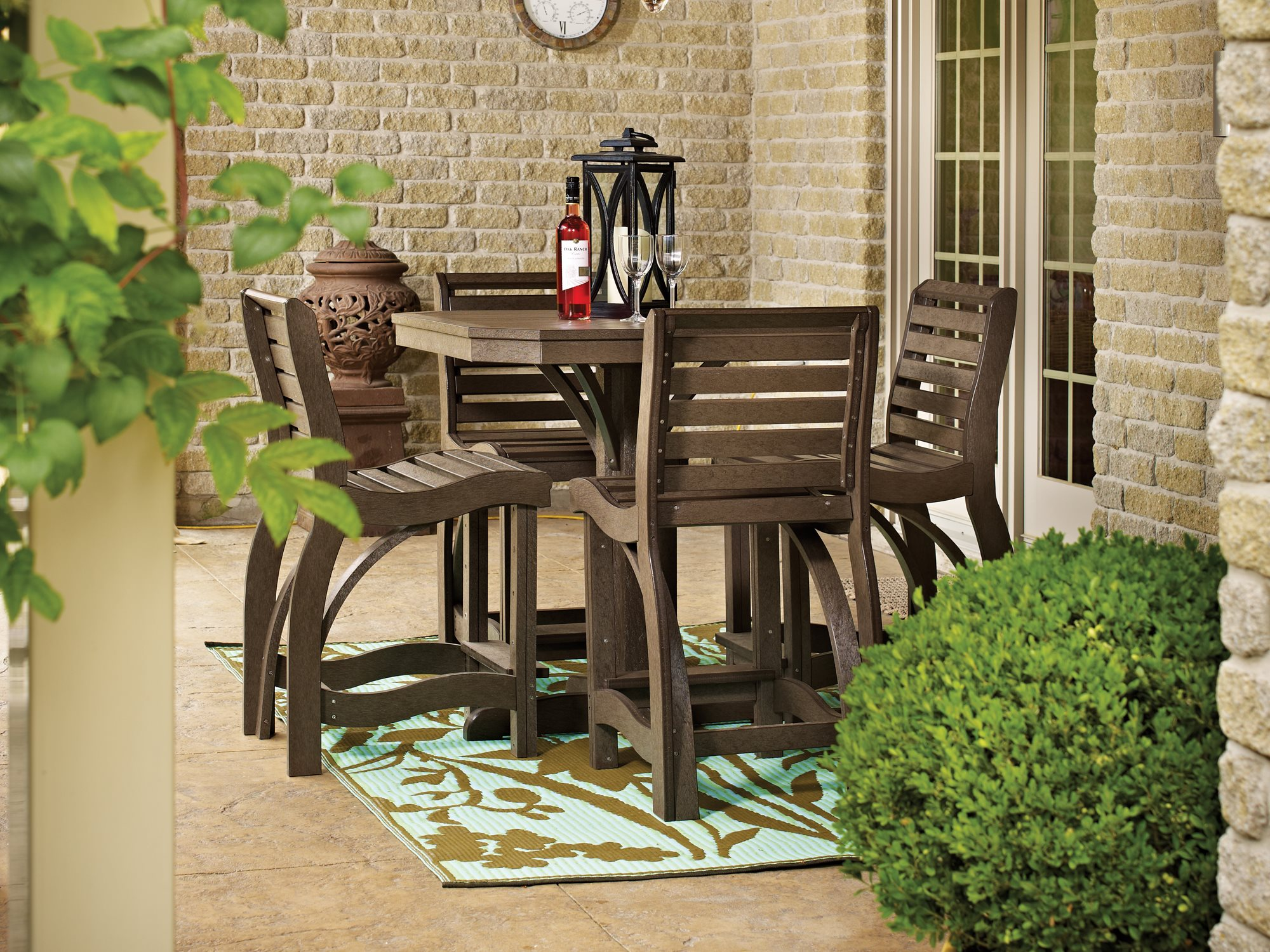 counter height outdoor table and chairs counter height outdoor furniture sets outdoor designs intended for amazing RSYOSOL