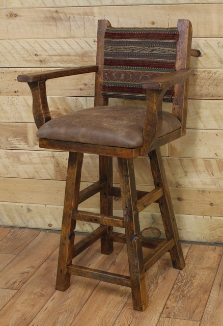 counter height swivel bar stools with arms creative of swivel bar stool with arms reclaimed swivel bar NNABONQ