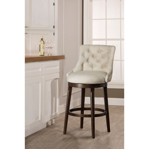 counter height swivel bar stools with arms halbrooke smoke swivel counter stool GVZDGYF