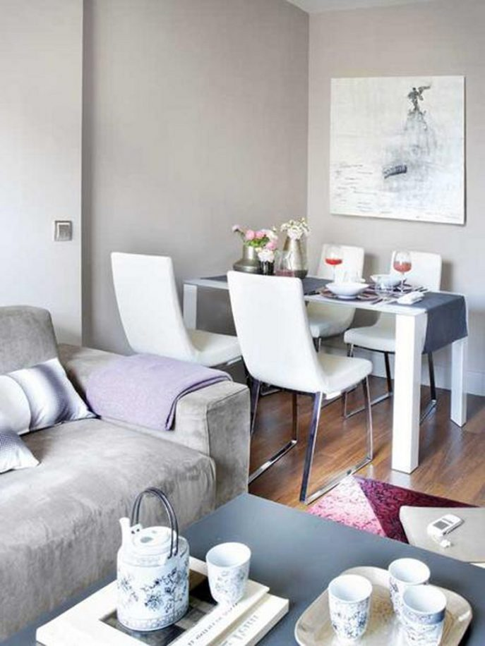 creative design living and dining room together small spaces living PWQJIRB