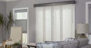 curtains for sliding glass doors with vertical blinds if you need to block glare and harmful uv rays KHMJZEC