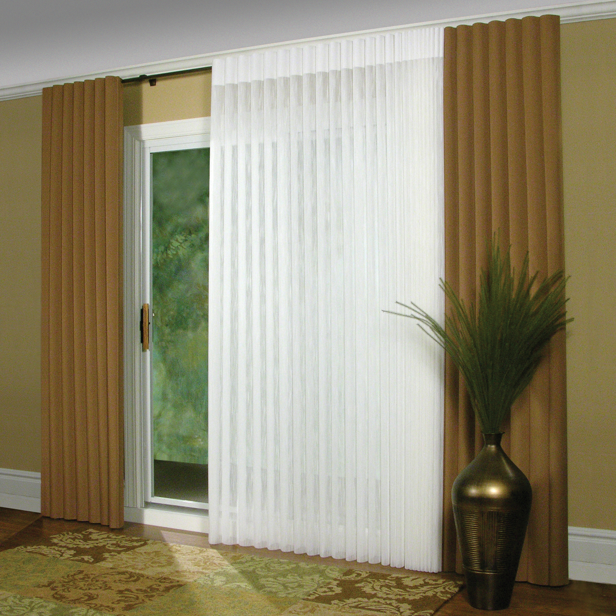 curtains for sliding glass doors with vertical blinds image of: patio blinds for sliding glass doors DGBKRMO