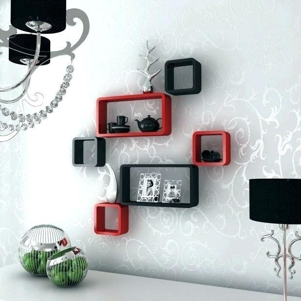 decorative wall shelves for living room wall shelf decor living room ... XNYFTIV
