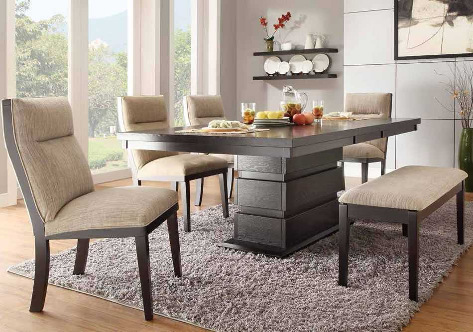 dining room table with bench and chairs dining room tables with bench seating ideas excellent set in WQIAZJQ