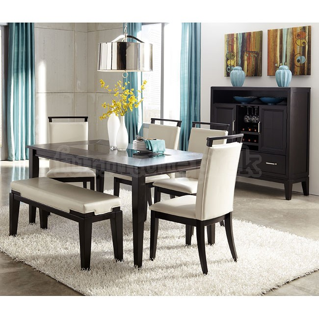 dining room table with bench and chairs unique black dining room set with bench download dining room UOWFSTC