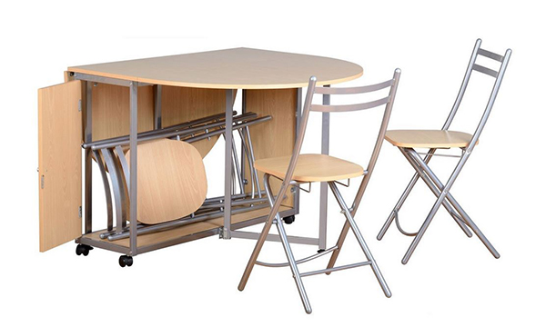 drop leaf table with folding chairs stored inside amazing folding table with chairs stored inside 20 drop leaf DNSTXNY