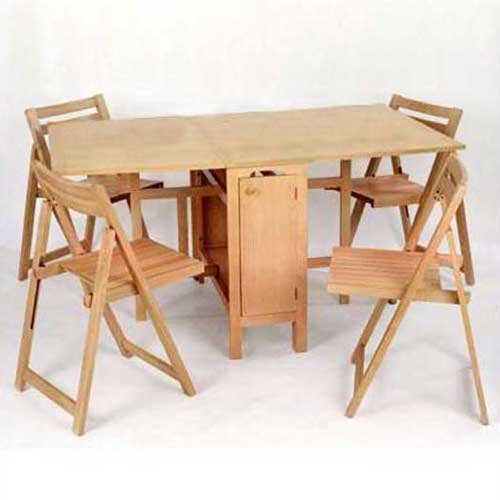 drop leaf table with folding chairs stored inside captivating drop leaf table and chair set drop leaf table QHPBUVJ