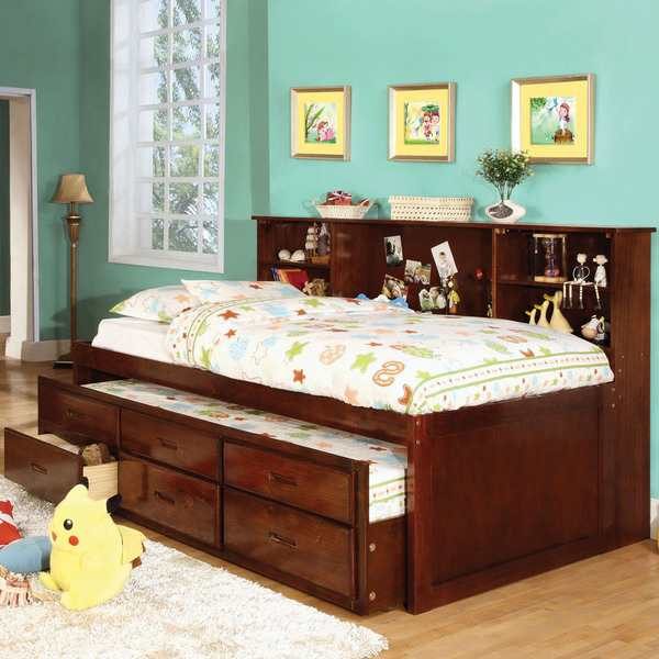 exciting full size captains bed with bookcase headboard 86 for LPSKCFJ