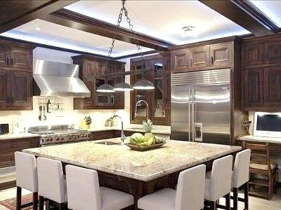 extra large kitchen island with seating best kitchen island seating ideas on contemporary inside square with GSCCRDM