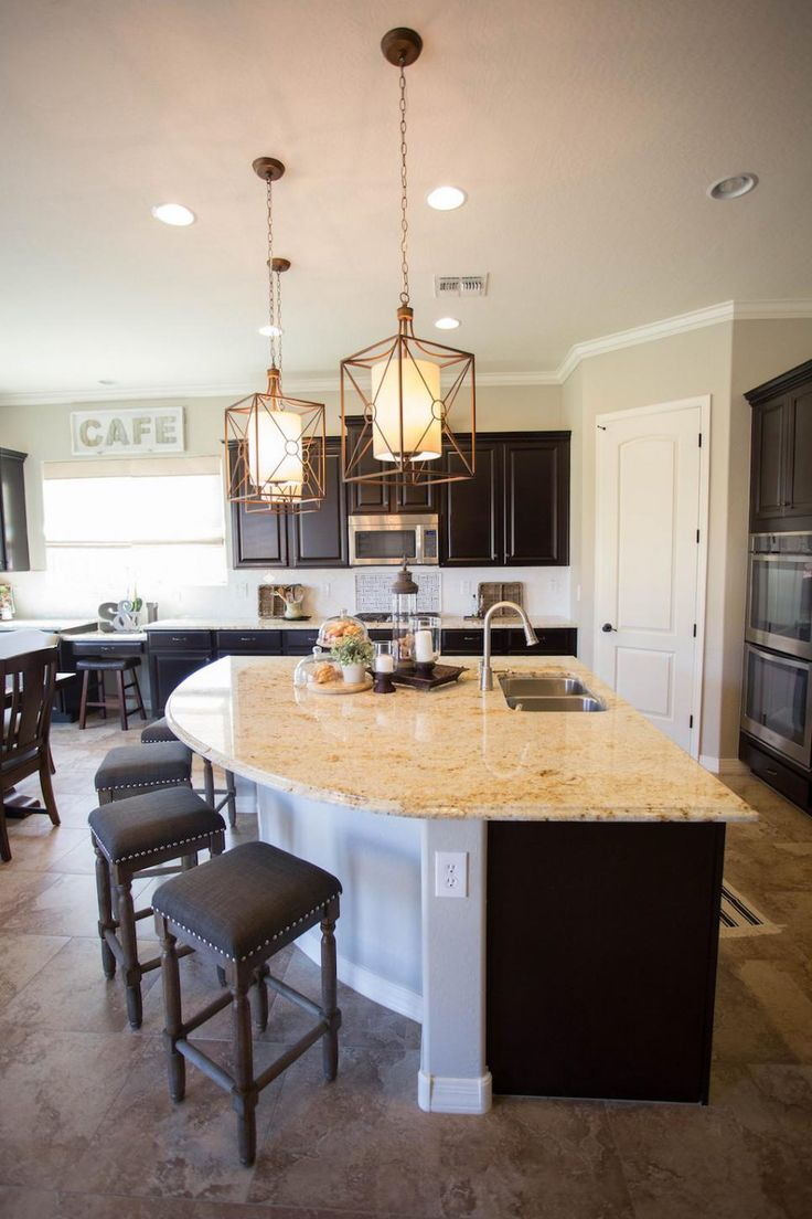 extra large kitchen island with seating the unique curved kitchen island provides extra casual seating in AUOEZTE