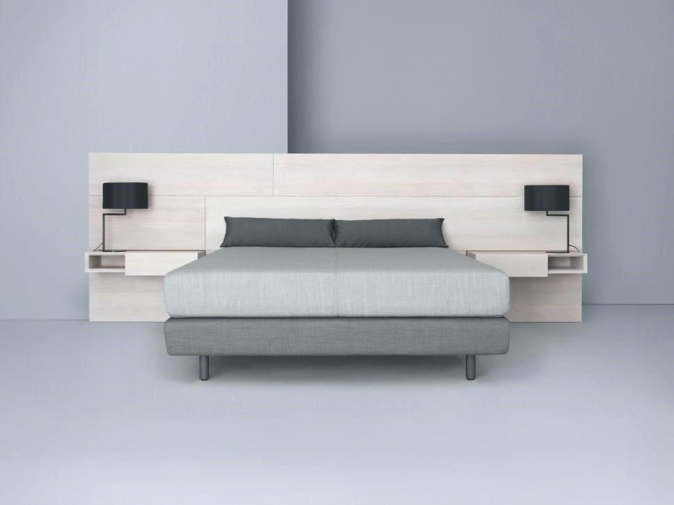 floating headboard with attached nightstands bed floating headboard ikea frame with nightstand attached ... RXTBRKJ