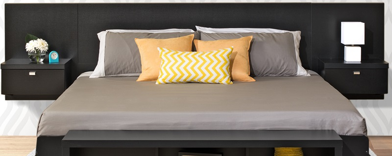 floating headboard with attached nightstands series 9 designer floating king size headboard with ZJJIPCF