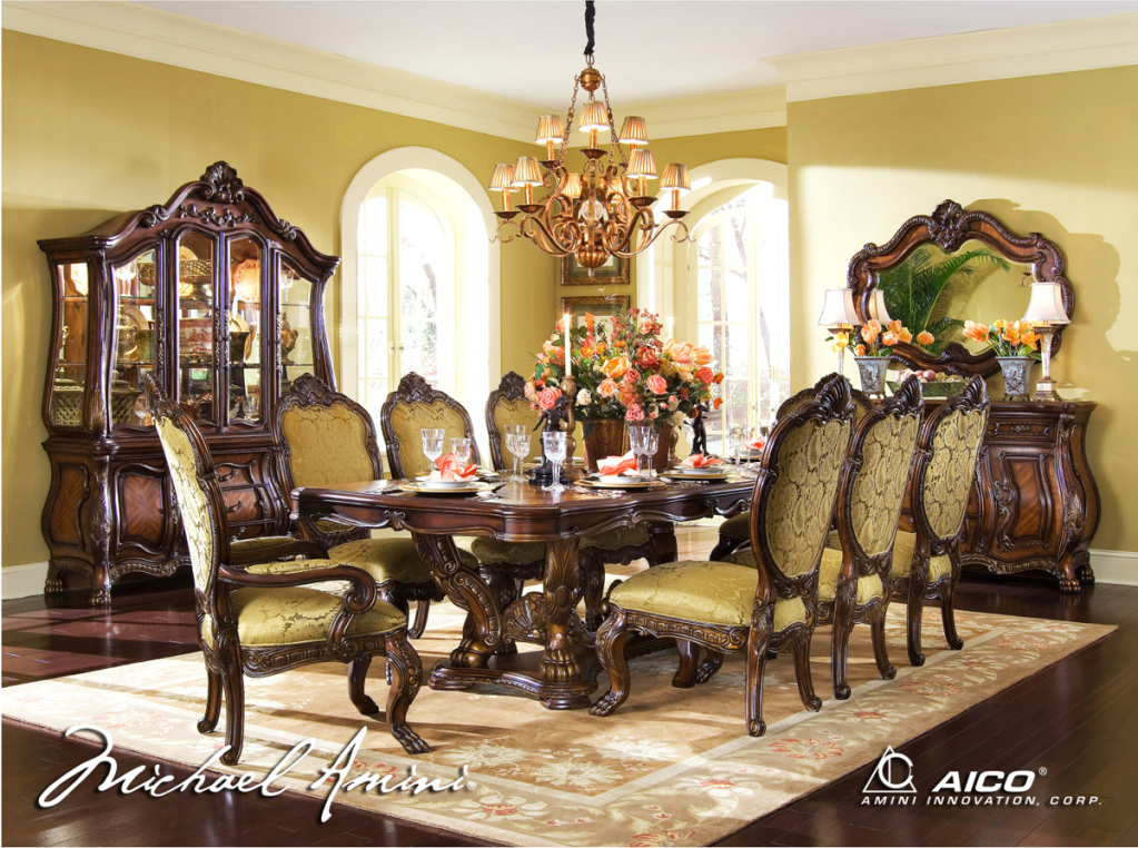 formal dining room sets with china cabinet chateau beauvais formal dining room collection DZITWXT