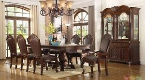 formal dining room sets with china cabinet image is loading chateau-traditional11-piece-formal-dining-room-set-table- DKPMHNR