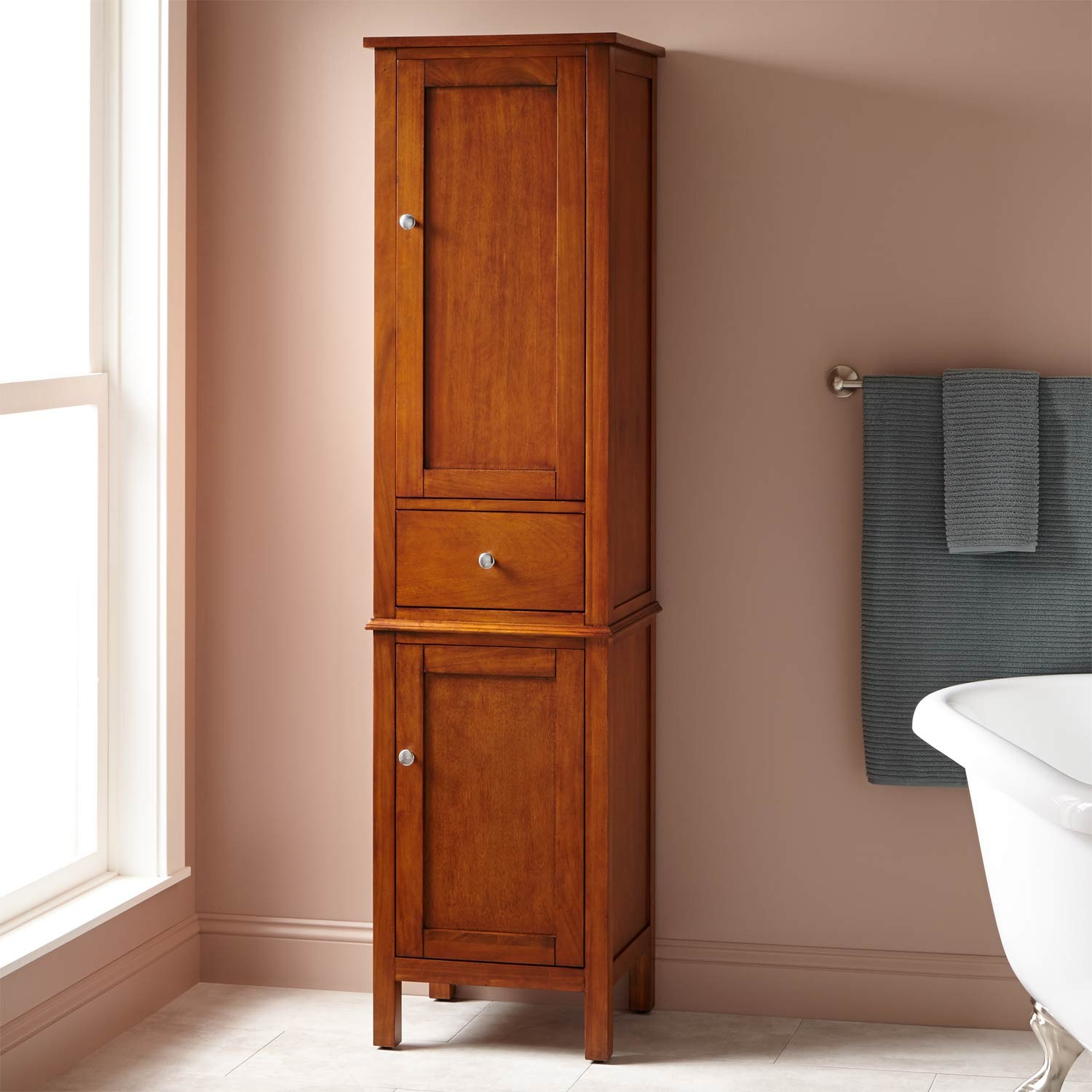free standing linen cabinets for bathroom luxurious bathroom best linen storage cabinet oak cabinets of wood HAJEJDX