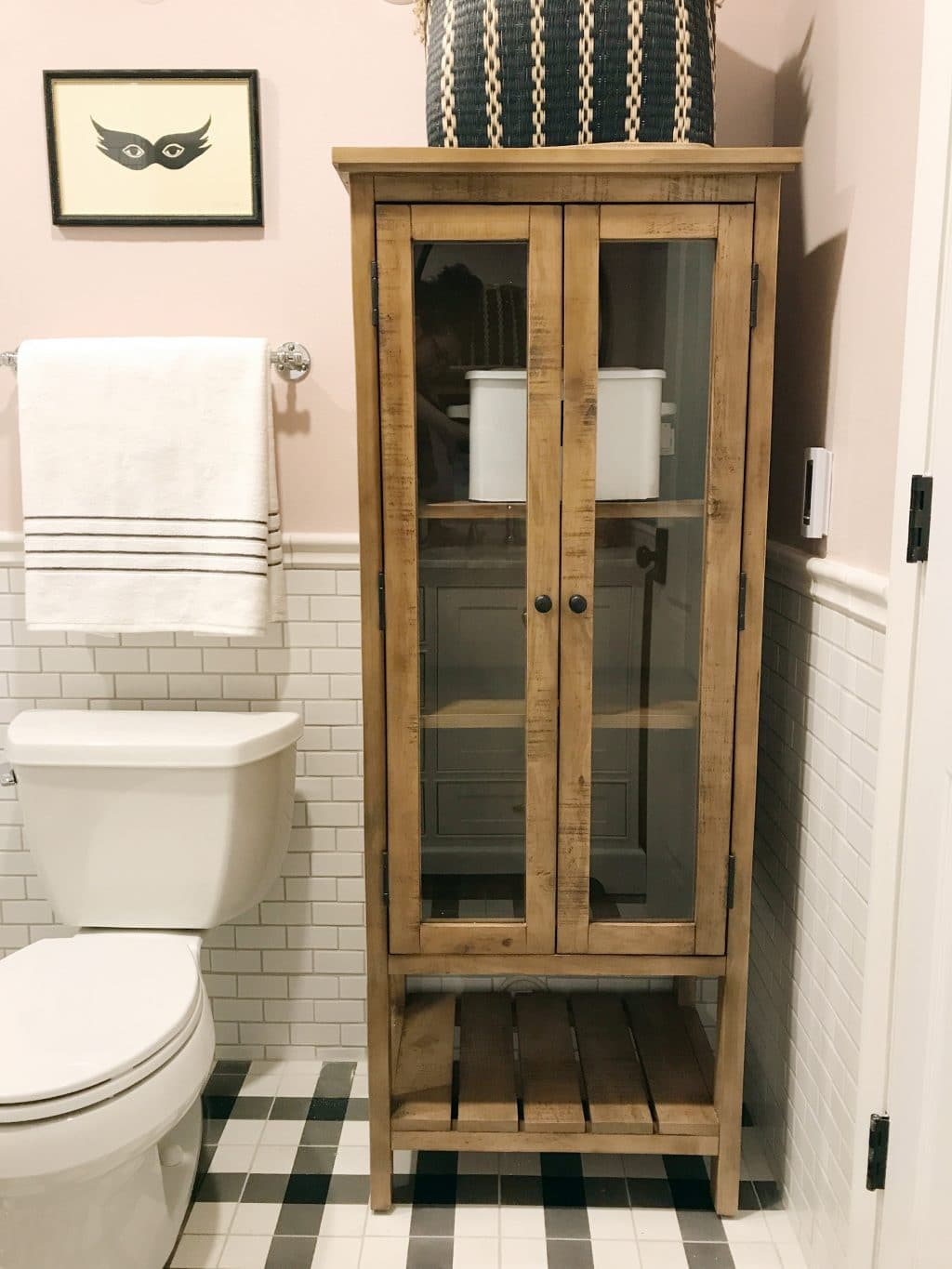 free standing linen cabinets for bathroom today i wanted to share the free-standing linen cabinet we JOZNWSE
