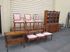 french provincial dining room furniture 58063 t3: cherry french country 9 piece dining room set MJQEIHQ
