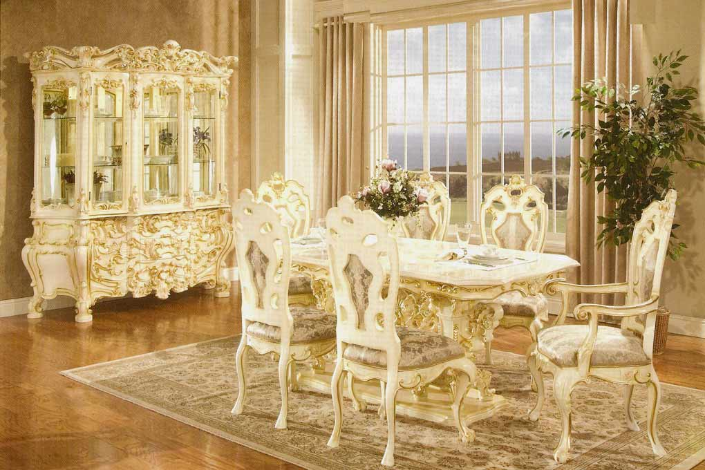 french provincial dining room furniture french provincial dining 755 baroque tables pertaining to room furniture TQMMIZS