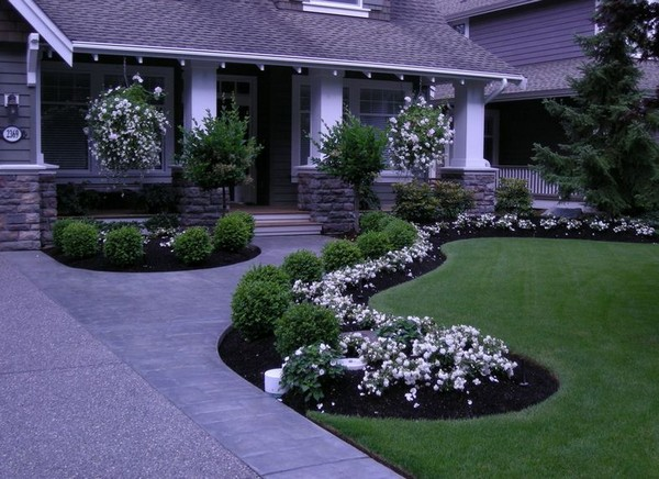front yard landscaping ideas on a budget inexpensive landscaping ideas DXCIBTH