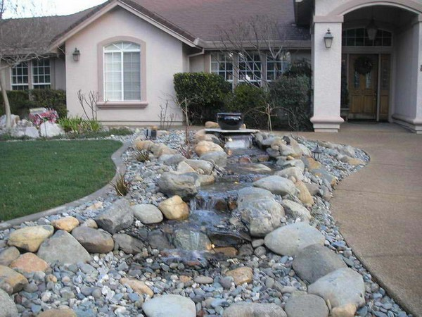 front yard landscaping ideas with rocks front yard landscaping with rocks ONWQZNU