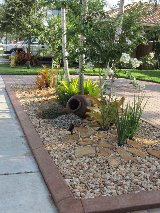 front yard landscaping ideas with rocks rock garden front yard CCVOCKI