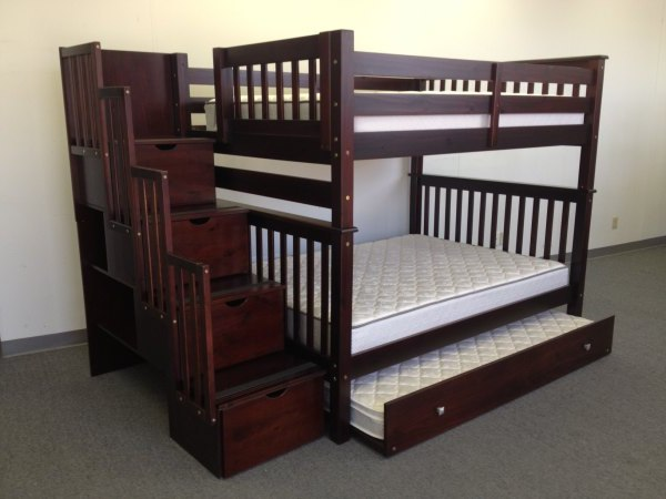 full over full bunk beds with trundle and stairs awesome full bunk beds with stairs bunk beds full over EPCGROF