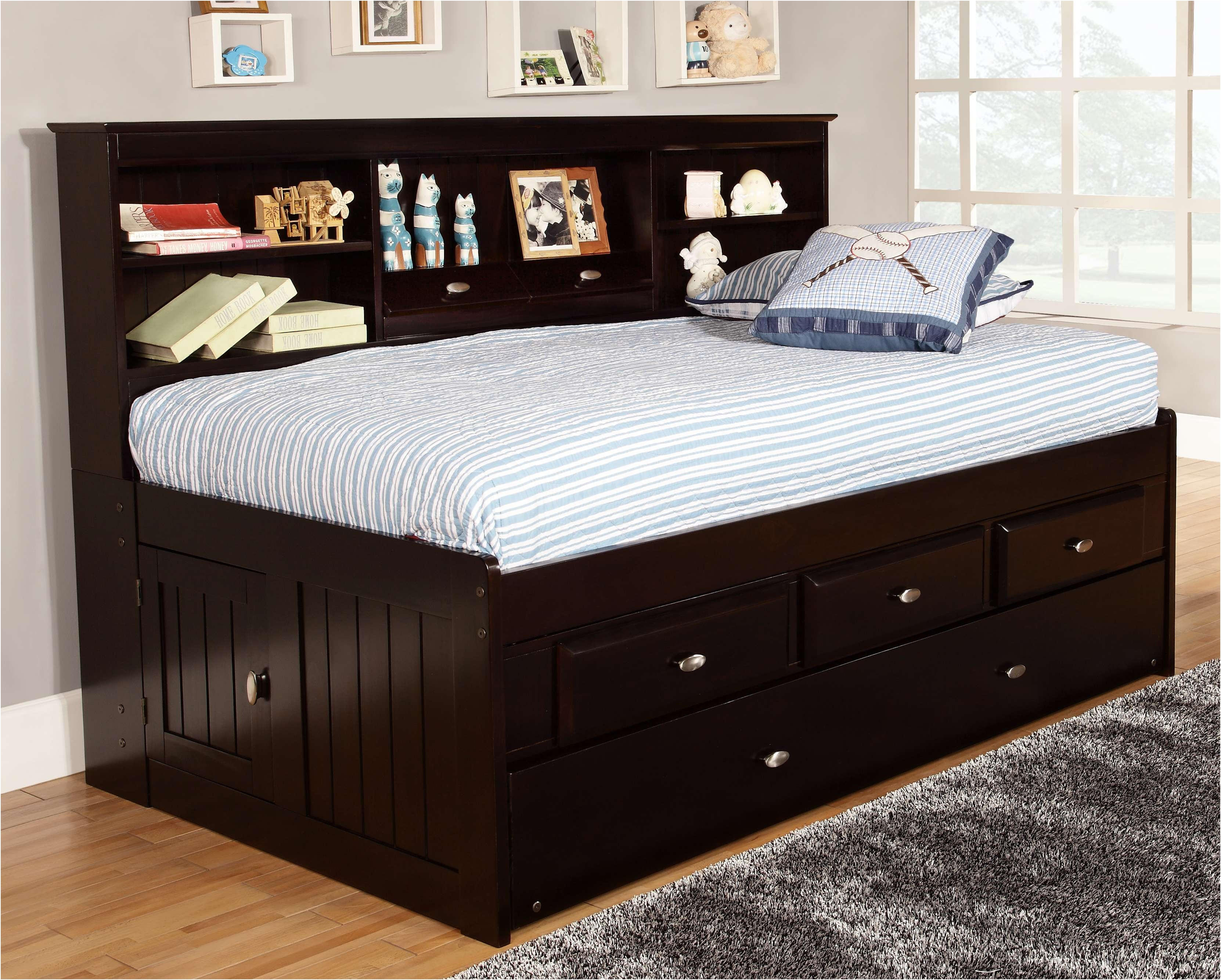full size captains bed with bookcase headboard twin size captains bed fresh full size storage bed with OWYRFCA
